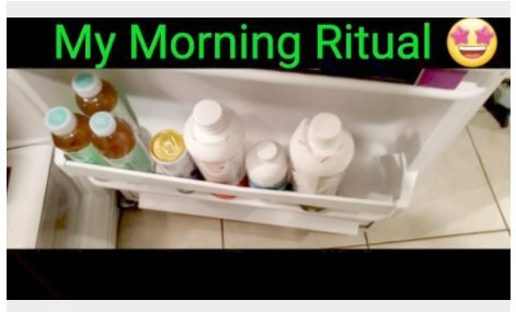 My Morning Ritual with Mary Ruth Organics