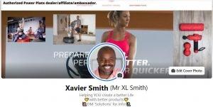 Xavier Smith Facebook profile