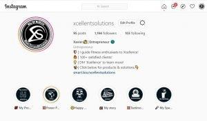 Follow me Xavier Smith on Instagram